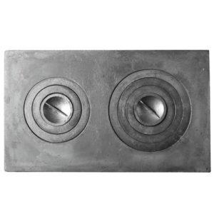 Плита под казан 2-конф. П2-5(760мм*455мм)