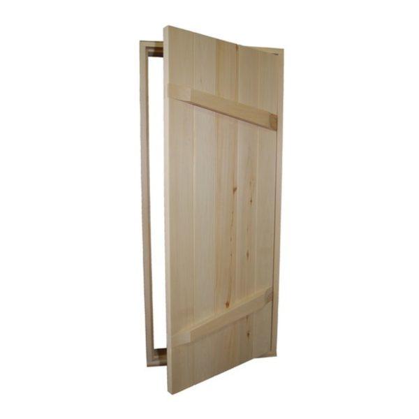 Дверь из доски(Хвоя)0.70м*1.70м
