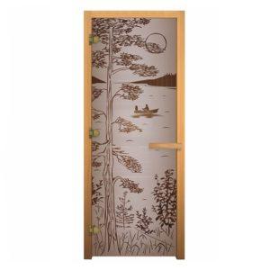 Купить стеклянную дверь для бани и сауны по недорогим ценам в Нижнекамске